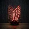 3D-128 3D LED Illusion Lamp-3D Lamp-Lamplanet