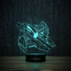 3D-17 3D LED Illusion Lamp-3D Lamp-Lamplanet