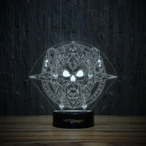3D-170 3D LED Illusion Lamp-3D Lamp-Lamplanet