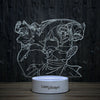3D-86 3D LED Illusion Lamp-3D Lamp-Lamplanet