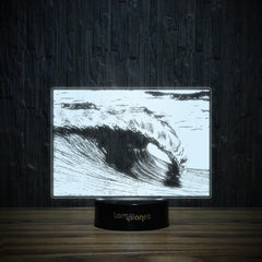 A Perfect Wave-3D Lamp-Lamplanet