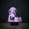 Beagle Puppy In Garden-3D Lamp-Lamplanet