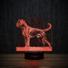 Boxer On Grass-3D Lamp-Lamplanet
