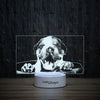 Bulldog Puppy-3D Lamp-Lamplanet