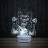 Chilled Frenchie-3D Lamp-Lamplanet