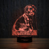 Cute Doberman Puppy-3D Lamp-Lamplanet