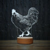 Dominique Rooster-3D Lamp-Lamplanet