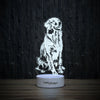Expectant Golden-3D Lamp-Lamplanet