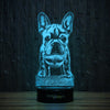 Frenchie Time-3D Lamp-Lamplanet