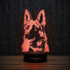 German Shepherd-3D Lamp-Lamplanet