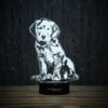 Golden Puppy-3D Lamp-Lamplanet
