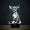 Good Chihuahua-3D Lamp-Lamplanet