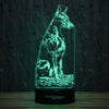 Good Doberman-3D Lamp-Lamplanet