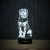 Good Rottweiler-3D Lamp-Lamplanet
