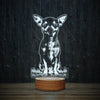 Happy Chihuahua-3D Lamp-Lamplanet
