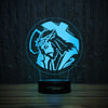 Jesus Christ Crown Of Thorns-3D Lamp-Lamplanet