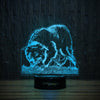 Playful Border Collie-3D Lamp-Lamplanet