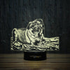 Playful Pug-3D Lamp-Lamplanet
