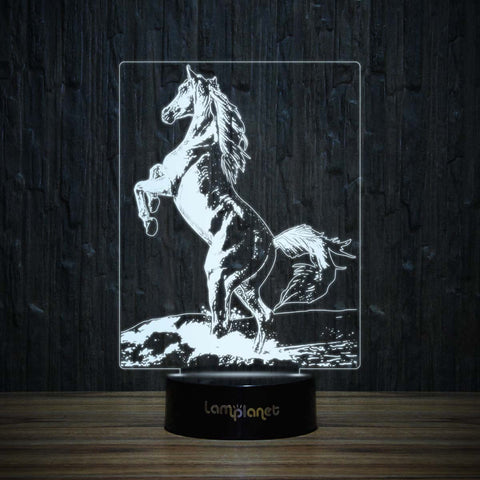 Standing Horse-3D Lamp-Lamplanet