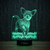 Stylish Chihuahua-3D Lamp-Lamplanet
