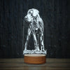 Stylish Great Dane-3D Lamp-Lamplanet