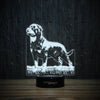 Stylish Rottweiler-3D Lamp-Lamplanet