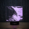 The Wave And The Surfer-3D Lamp-Lamplanet