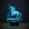 Unicorn-3D Lamp-Lamplanet