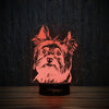 Yorkie Cute Face-3D Lamp-Lamplanet