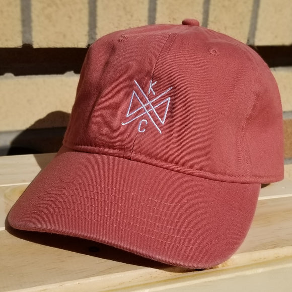 Crossroads Embroidered Dad Hat - Cumin