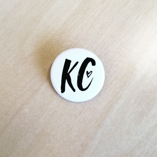 1.25 inch Pin-back Button