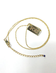 KC Heart Bar Necklace