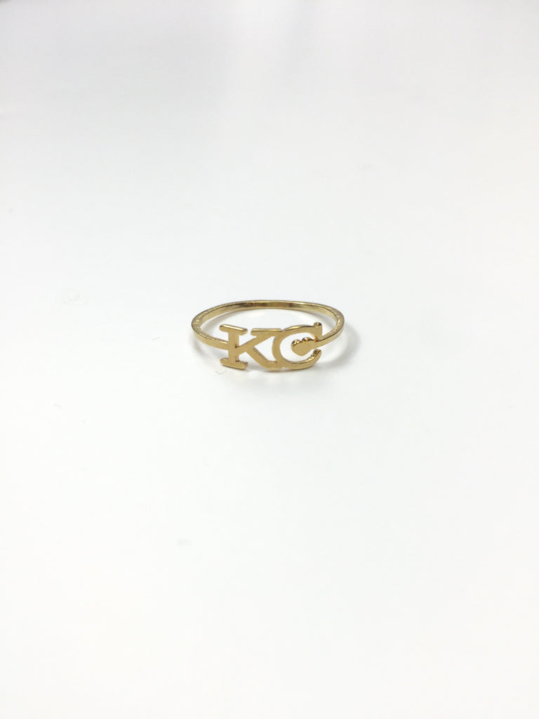 KC Heart Ring