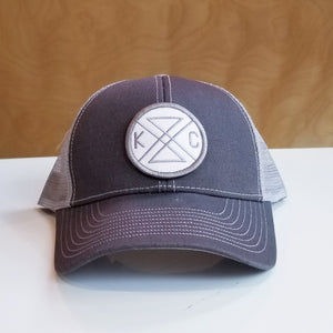 KC Connected Trucker Hat - White Patch