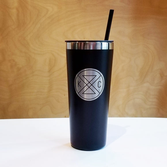 Connected 22oz Sipper Tumbler - Black