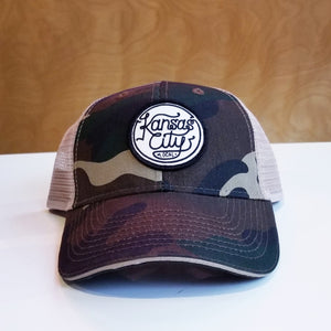 Camo Trucker Hat - Local Patch