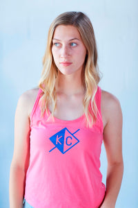 KC Journey Women's Tank - Flamingo Pink