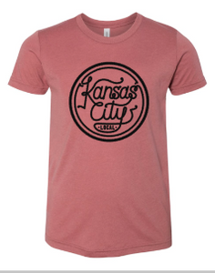 Kansas City Local Youth Tee - Mauve