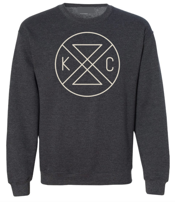 Connected Crewneck Sweatshirt - Graphite Grey
