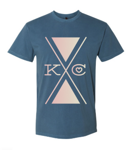 KC Twilight Unisex Tee - Navy