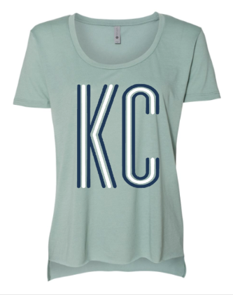 KC Harmony Women's Scoop Neck - Vintage Sage
