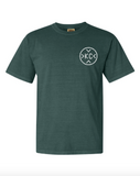 First Fridays Comfort Color Unisex Tee - Vintage Emerald