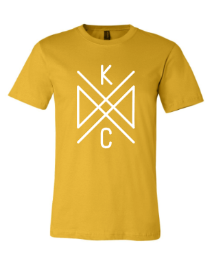 Crossroads Unisex Tee - Crown Town Yellow