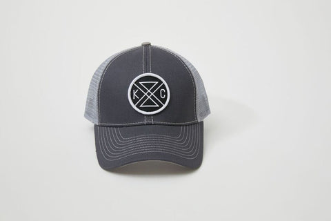 KC Connected Trucker Hat - Black Patch