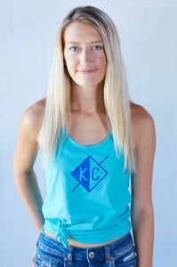 KC Journey Women's Tank - Turquoise Dreams