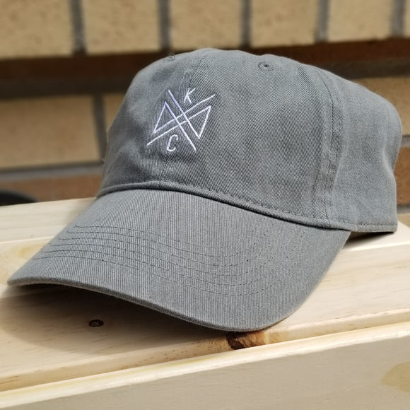 Crossroads Embroidered Dad Hat - Sage Green