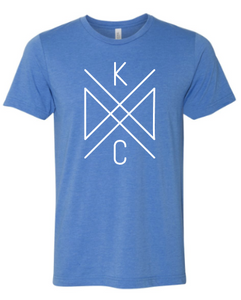 Crossroads Unisex Tee - Royal Blue
