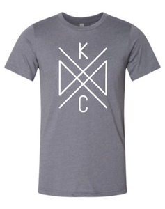 Crossroads Unisex Tee - Light Grey