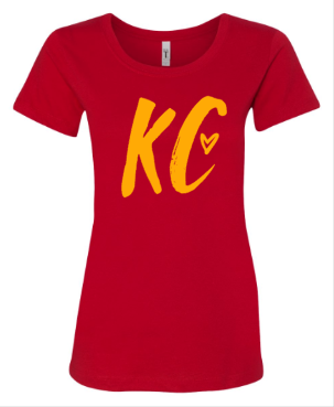 HIBRID KC Red Women's Fitted Tee