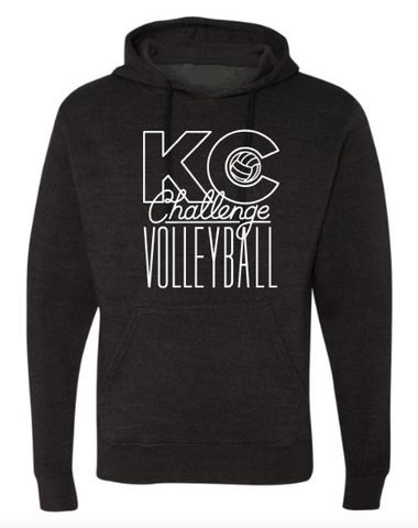 KC Challenge Heather Black Triblend Hoodie